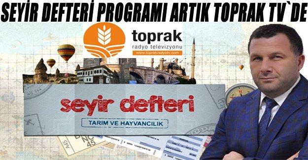 Bünyamin Alaçamlı ile Seyir Defteri Programı artık TOPRAK TV`de