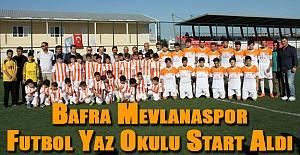 Bafra Mevlanaspor Futbol...