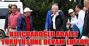 Kılıçdaroğlu Adalet Yürüyüşüne Devam Ediyor