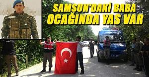 SAMSUN'A ŞEHİT ATEŞİ DÜŞTÜ