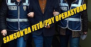 Samsun'da FETÖ/PDY...
