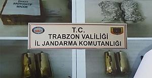 Trabzon'da nükleer sanayide kullanılan sezyum ele geçirildi
