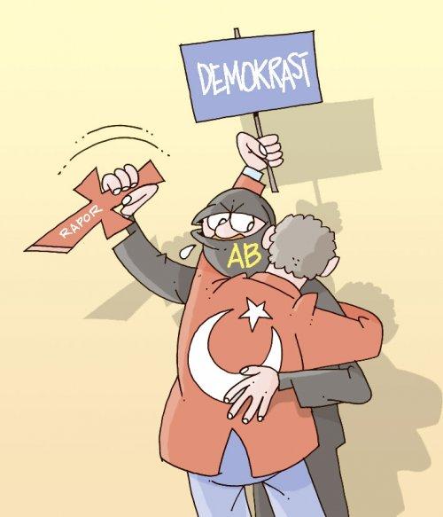 Avrupa Rapor'u ile Demokrasi dersi veriyor