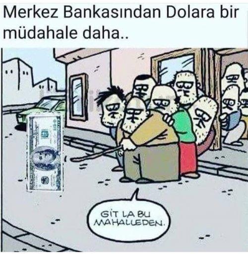 Merkez Bankasından Dolar müdahalesi