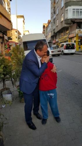 Kırcalı'ya sevgi seli