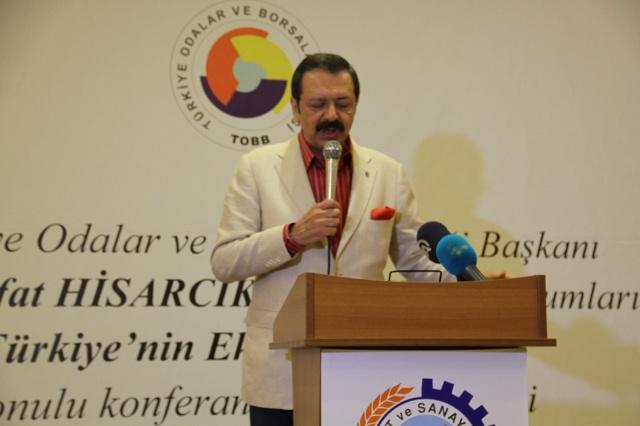 TOBB Genel Başkanı Hisarcıklıoğlu Bafra'da