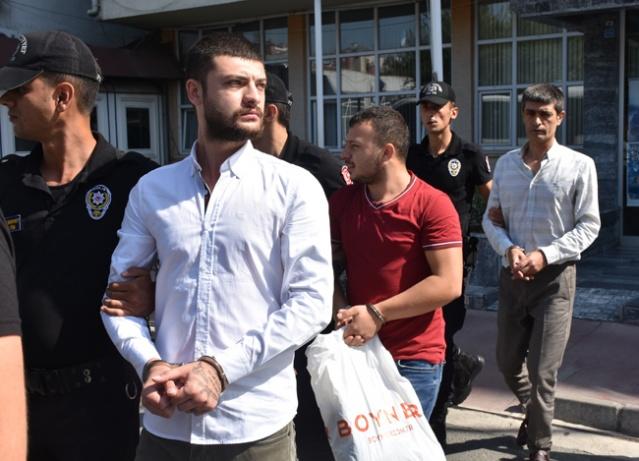 Samsun merkezli 3 ilde düzenlenen suç örgütü operasyonu.