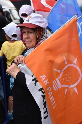 Cumhurbaşkanı Erdoğan Samsun'da miting yaptı