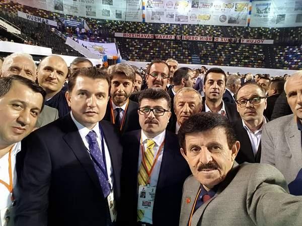 AK-Parti Samsun'da 6. olağan il kongresinden Kareler