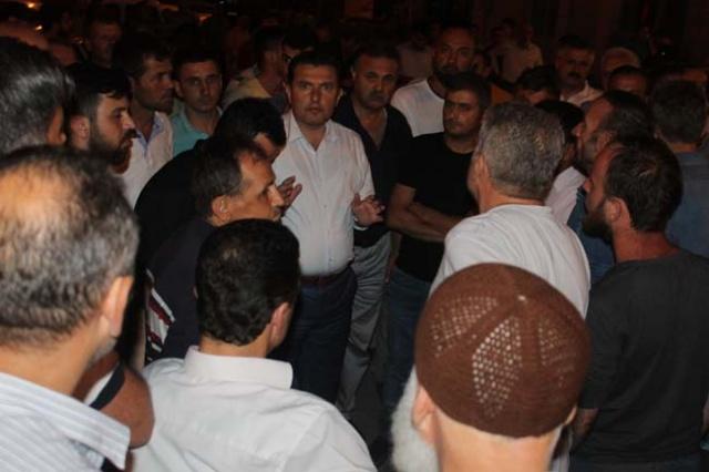 Askeri Darbe'ye karşı Bafra sokağa döküldü