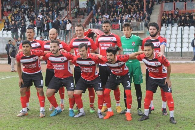 Bafra Spor Büyük Şehir spor maçından kareler..