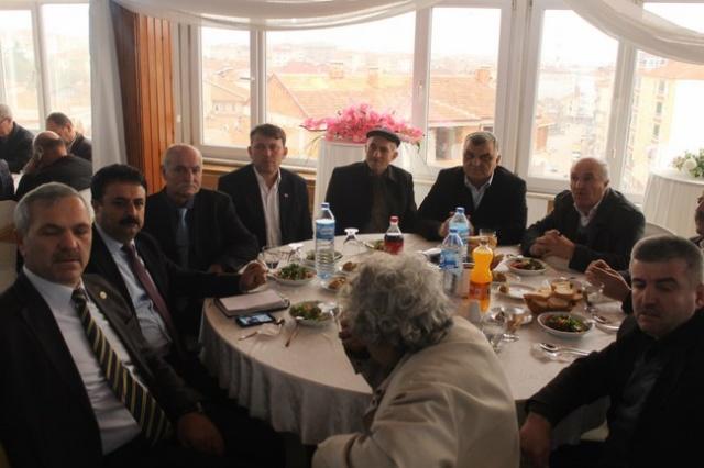 Bafra Ziraat odası yemekte buluştu