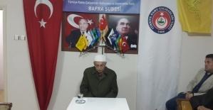 Türkav Bafra `da Anlamlı Kutlama
