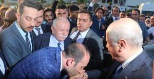 MHP Genel Başkanı Bahçeli Samsun'da