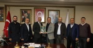 AK Parti İl Başkanı Karaduman`a ziyaret