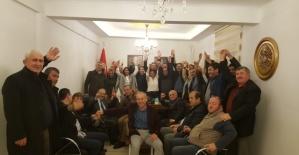Bafra'da ilk bayan ilçe başkanı seçildi