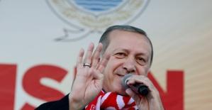 Cumhurbaşkanı Erdoğan Samsun`da