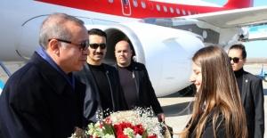 Cumhurbaşkanı Samsun'a geldi