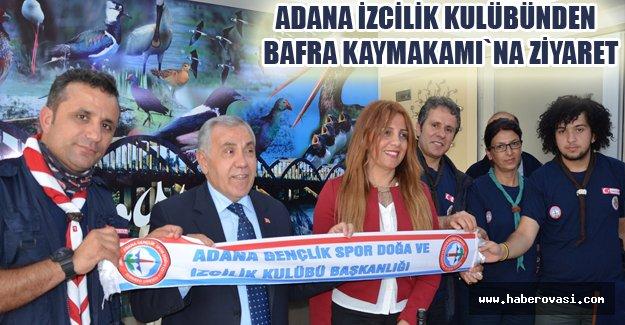 Adana Gençlik Spor Doğa ve İzcilik Kulübünden Bafra Kaymakamlığına Ziyaret