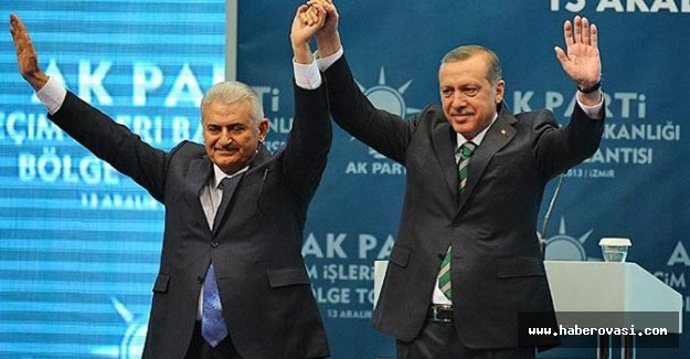 AK PARTİ Binali Yıldırım dedi....