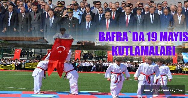Bafra`da 19 Mayıs Kutlamaları..