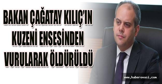 Bakan Akif Çağatay Kılıç'ın kuzeni öldürüldü