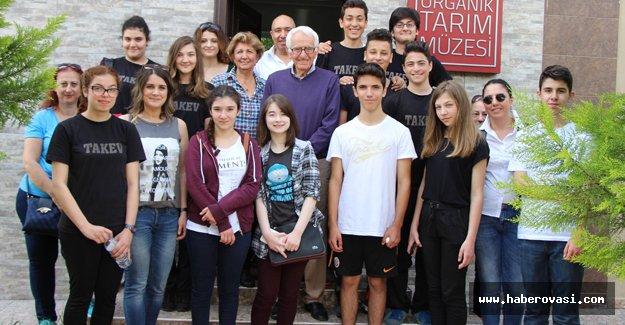 Lise öğrencileri Tarım Müzesi'ni gezdi