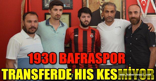 1930 BAFRASPOR TRANSFERDE HIS KESMİYOR