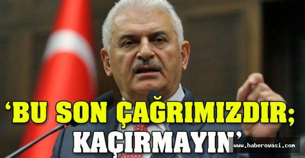 Başbakan Yıldırım'dan Kılıçdaroğlu mesajı