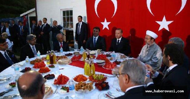 Erdoğan, ABD'deki Müslümanlarla iftarda bir araya geldi
