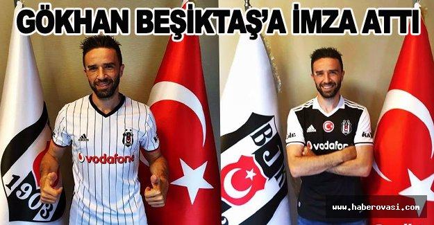 Bafra'lı Futbolcu Gökhan Gönül Beşiktaş'ta