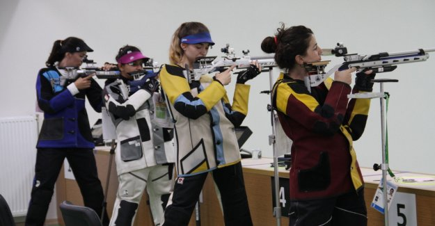 23. İşitme Engelliler Olimpiyat oyunları atıcılık