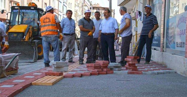 Bafra Belediyesi Hız Kesmiyor