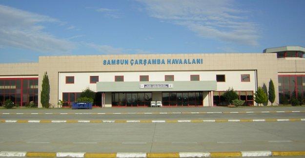 Samsun'da 751 bin kişi havayolunu kullandı