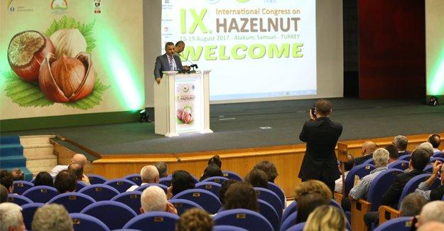 9. Uluslararası Fındık Kongresi Samsun'da başladı