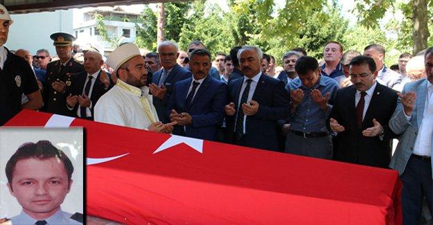 Emniyet Müdürü Çalışkan'ın cenazesi toprağa verildi.
