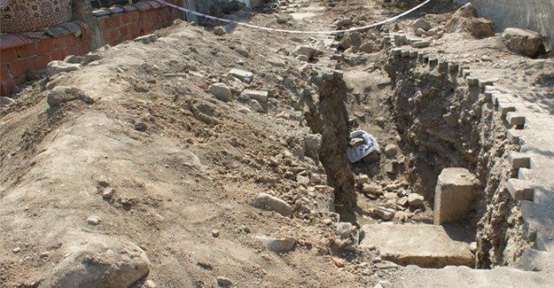 Samsun'da tarihi kalıntılar bulundu