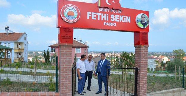 Şehit Polis Fethi Sekin Parkı Tamam