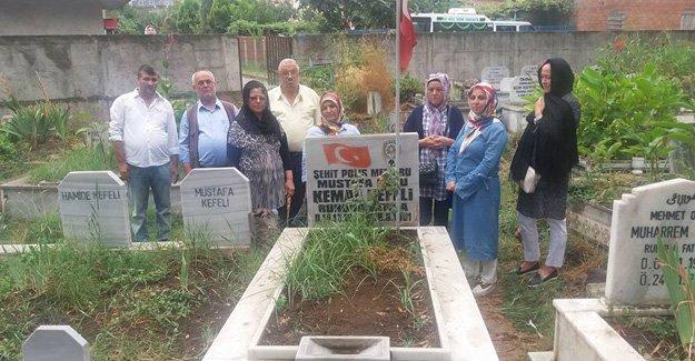 Şehit polis Kemal Kefeli şehadetinin 26. Yılında kabri başında dualarla anıldı