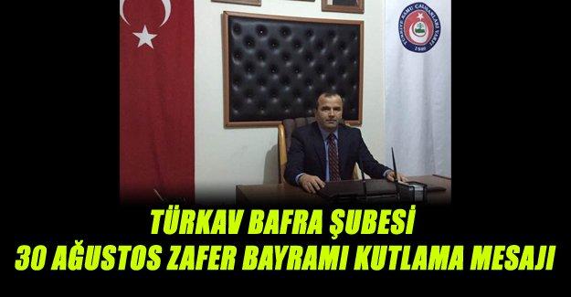 Türkav Bafra Şubesinden Kutlama