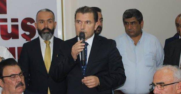 Bafra AK Parti`de Bayramlaşma