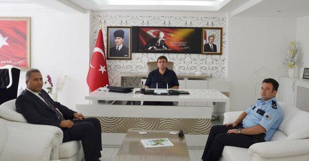 Emniyet Müdüründen Türkel'e ziyaret