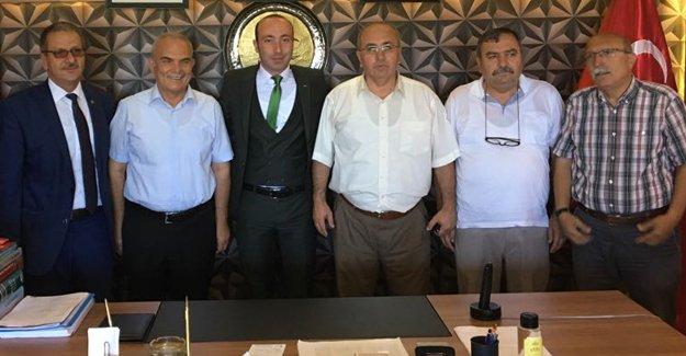 MHP Samsun Teşkilatları ile bayramlaştı