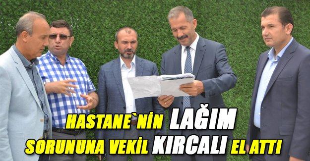 Milletvekili Kırcalı, hastanede incelemelerde bulundu