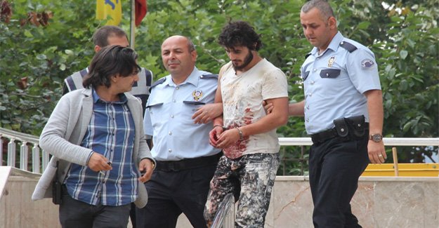 Samsun'da bıçaklı saldırı 1 yaralı