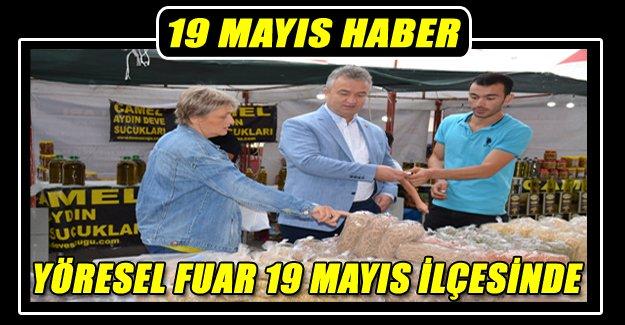 YÖRESEL FUAR 19 MAYIS İLÇESİNDE