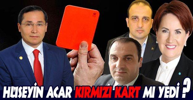 HÜSEYİN ACAR KIRMIZI KART MI YEDİ..