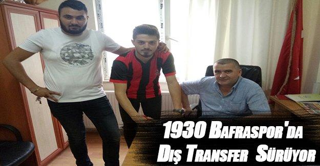 1930 Bafraspor'da Dış Transfer Sürüyor