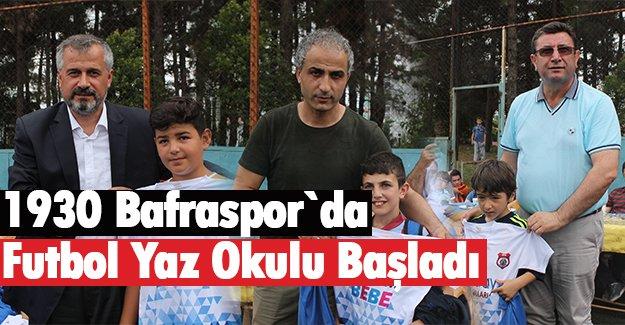 1930 Bafraspor`da Futbol Yaz Okulu başladı