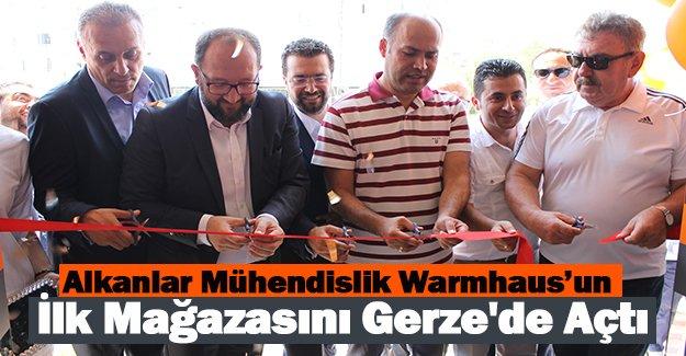 Alkanlar Mühendislik Warmhaus'un İlk Mağazasını Gerze'de Açtı.
